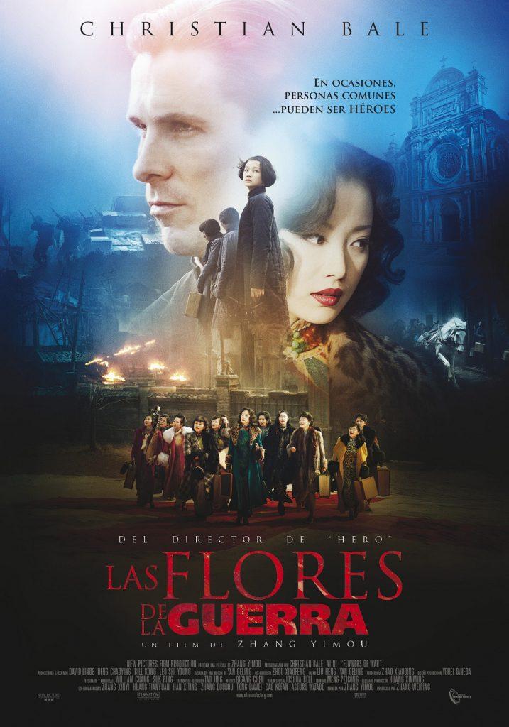 "Poster for the movie ""Las flores de la guerra"""