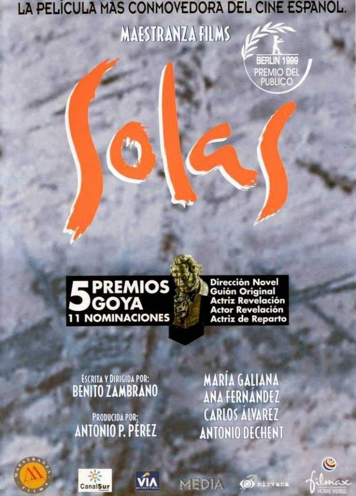 """Poster for the movie """"Solas"""""""