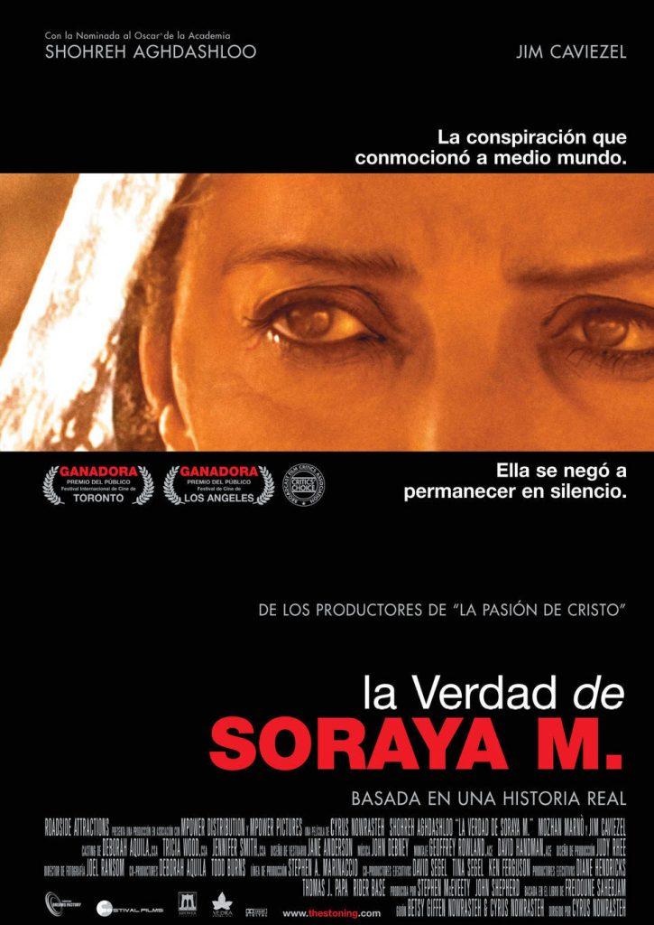 """Poster for the movie """"La verdad de Soraya M."""""""