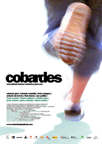 "Poster for the movie ""Cobardes"""
