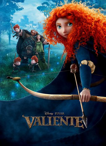 """Poster for the movie """"Brave (Indomable)"""""""