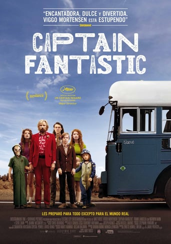 "Poster for the movie ""Captain Fantastic"""