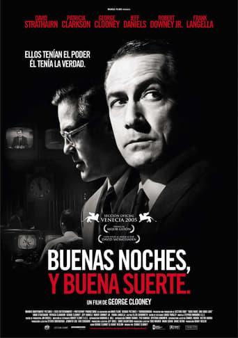 """Poster for the movie """"Buenas noches, y buena suerte"""""""